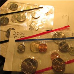 2004 P & D Statehood Quarter Mint Sets; & 2006 U.S. Mint Set with no quarters. All in cellophane.