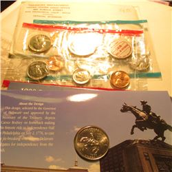 1999 D Delaware Coin Collector Set, Volume 1 & 1968 U.S. Silver Mint Set.
