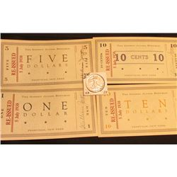 """Series of 1935, Freeville, N.Y. """"George junior Republic"""" Scrip """"Nothing Without Labor"""", 10 Cents, On"""