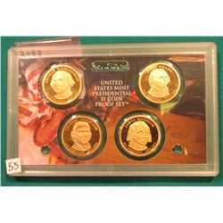 2007 S Presidential Proof Set. In the original plastic case. No outer box.