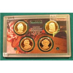 2008 S Presidential Proof Set. In the original plastic case. No outer box.