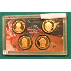 2009 S Presidential Proof Set. In the original plastic case. No outer box.