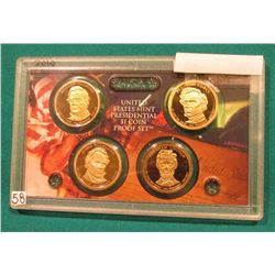 2010 S Presidential Proof Set. In the original plastic case. No outer box.