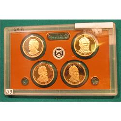 2011 S Presidential Proof Set. In the original plastic case. No outer box.