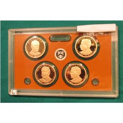 2013 S Presidential Proof Set. In the original plastic case. No outer box.
