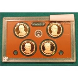 2014 S Presidential Proof Set. In the original plastic case. No outer box.