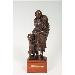 Richard Greeves, two bronzes