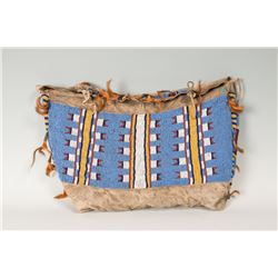 "Northern Plains Beaded Possible Bag, 13"" x 22"""