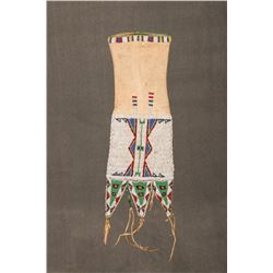"Sioux Beaded Tab Style Pipebag, 18"" long"
