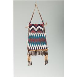 Apache Beaded Strike-A-Lite Bag together with an Apache Awl Case.