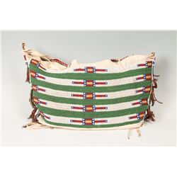 "Northern Plains Beaded Possible Bag, 11"" x 21"""