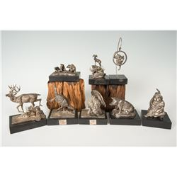 Charles M. Russell, Trigg Sterling Silver Castings