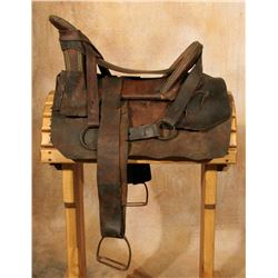 "Navajo Tacked Saddle, 20"" cantle to horn"
