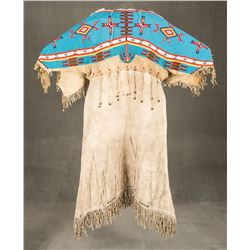 "Sioux Beaded Dress, 56"" long"