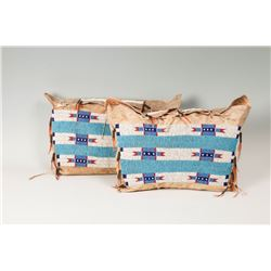 """Sioux Beaded Possible Bags, each 11"""" x 19"""""""