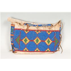 "Northern Plains Beaded Possible Bag, 9"" x 16"""