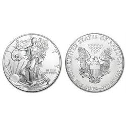 2015 SILVER EAGLE 1oz .999 SILVER *BRILLIANT UNCIRCULATED* SILVER EAGLE CAME OUT OF SAFE BOX!!