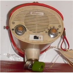 Rare old Franklin bicycle guiding light also radio