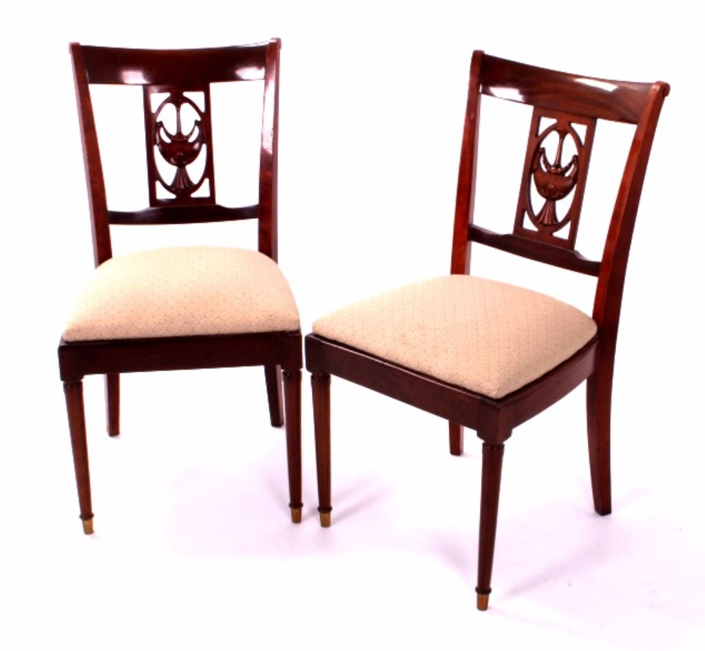Antique Mahogany Dining Room Furniture: Antique Mahogany Dining Room Chairs