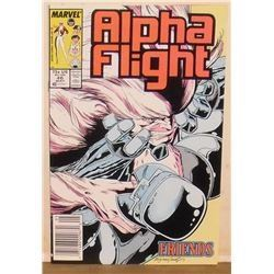 USA printed in this Alpha flight