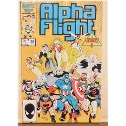 39 is the # Alpha flight