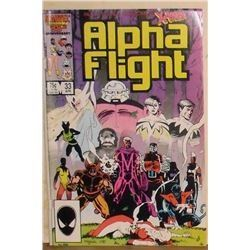 33 number and two copies comics of the same of Alpha Flight
