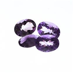 44.88ctw. Oval Amethyst Parcel