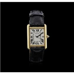 Cartier 18KT Yellow Gold Tank Louis Cartier Watch