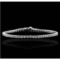 14KT White Gold 2.37ctw Diamond Bracelet