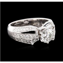 18KT White Gold 1.45ctw Diamond Ring