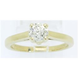 0.72ct Diamond Ring - 14KT Yellow Gold