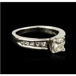 14KT White Gold 1.56ctw Diamond Ring