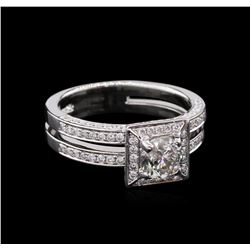 1.63ctw Diamond Ring - 14KT White Gold