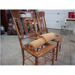 Pair of Oak Chairs
