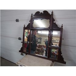 Victorian Vintage Wall Display Mirror