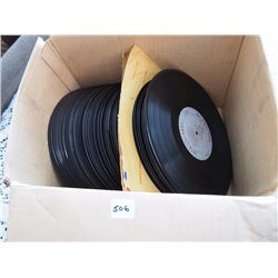 Box of 78' Records