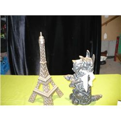 Eiffel Tower / Dog Doorstop