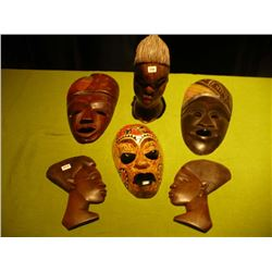 Wood Mask & Faces