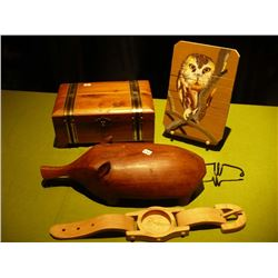 Wood Box Armadillo Watch Picture
