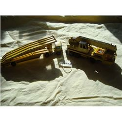 Matchbox Toys, Car Transporter and Mobile Crane