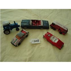 Dinky Toys / Plymouth Fury / Ertl Tractor / Matchbox / Hot Wheels