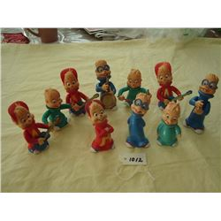 Alvin and the Chipmunks Figures (6)