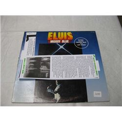 Elvis Record Moody Blue