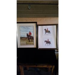 Police Framed Prints (2)