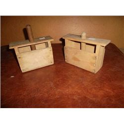 Butter Press Pair
