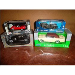 Cars in Original Boxes (4)