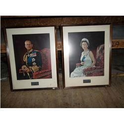 Framed Prints of King & Queen