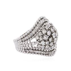 14KT White Gold 1.54ctw Diamond Ring