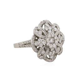 14KT White Gold 1.78ctw Diamond Ring