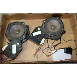 BOX WITH BOSE CAR SPEAKERS